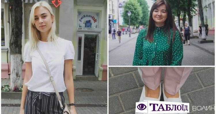 Вулична мода Луцька  сукні українських виробників 0159b47e98733