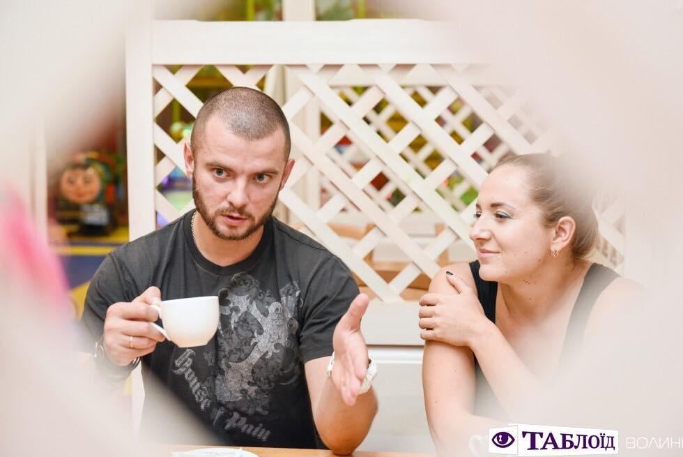 Олег із дружиною Наталею
