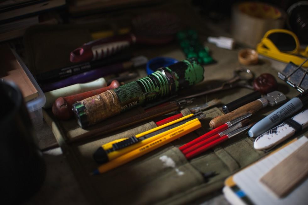 Робочі інструменти Артема.