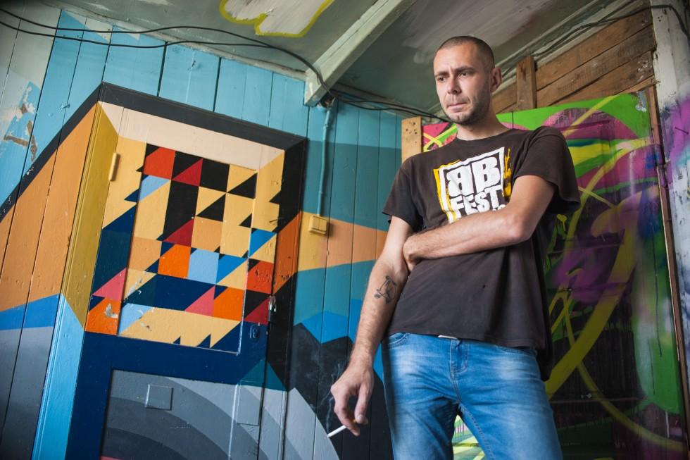Денис Мозговенко, художник, 28 років.