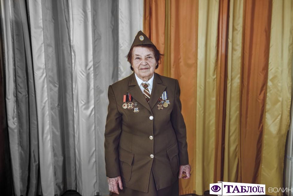 Ветеранка УПА Марія Іванівна Ткачук