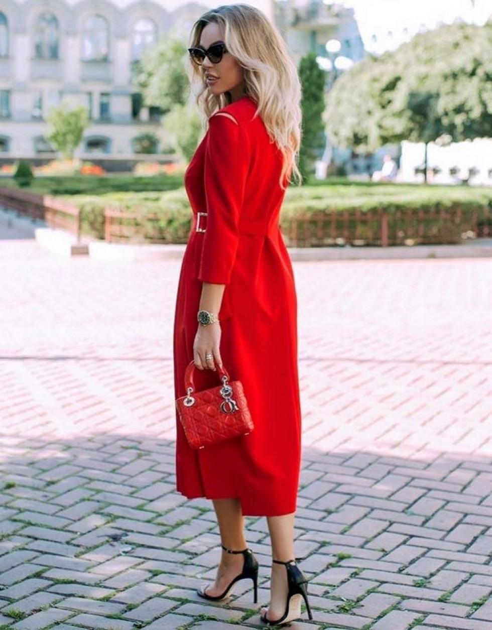 Монохромна червона колекція
