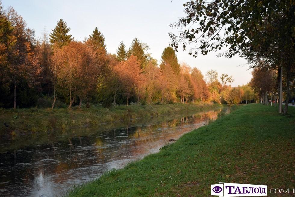 «Дідове літо»: останній теплий подих осені у луцькому парку