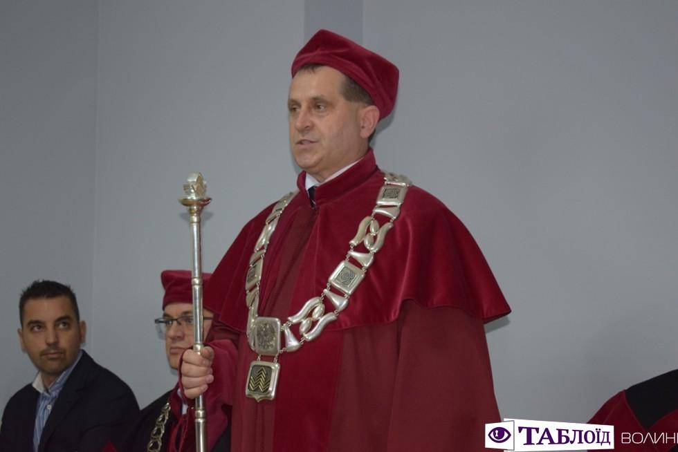 Проректор Старопольського університету в Кєльцах Даріуш Крук