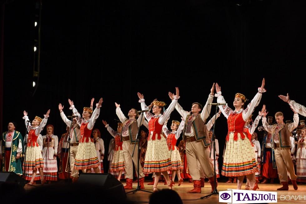 Ювілейний концерт Волинського народного хору