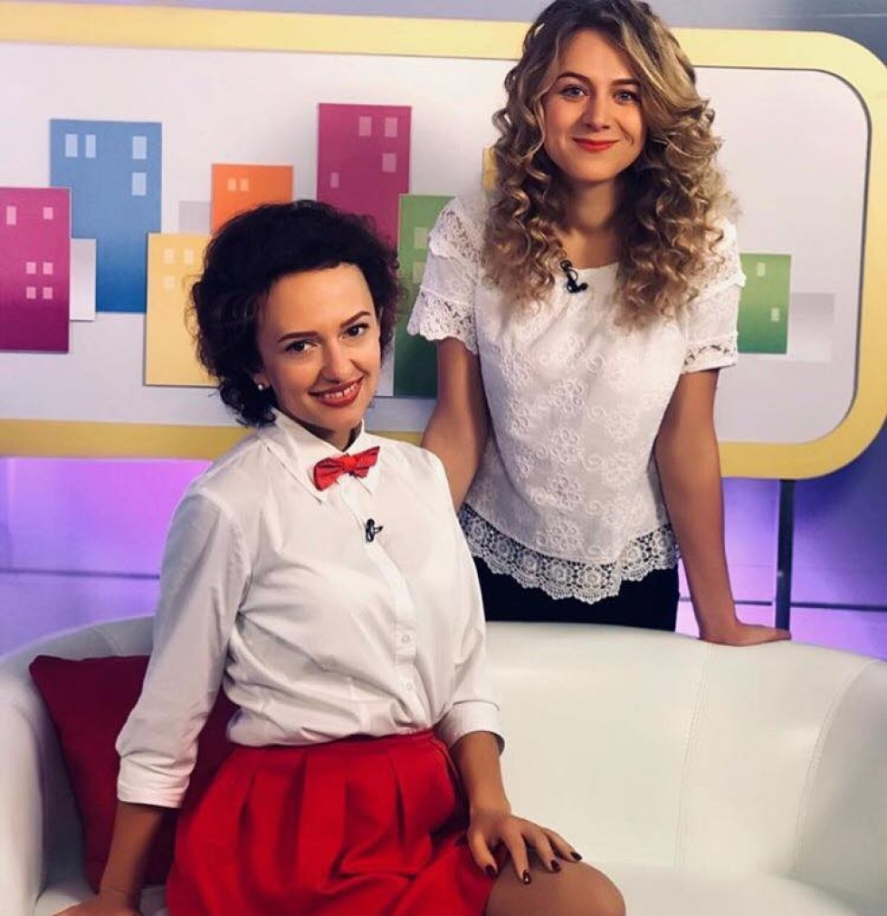 Вікторія Черв'як та Іванна Остапчук