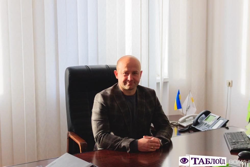 Директор Волинської дирекції ПАТ «Укрпошта» Іван Шевчук