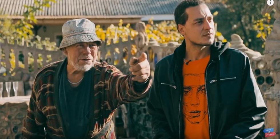 Євген Синельников познайомився у Луцьку із скульптором Миколою Голованем