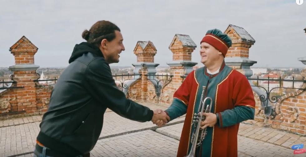 Луцький кликун Андрій Єдинак