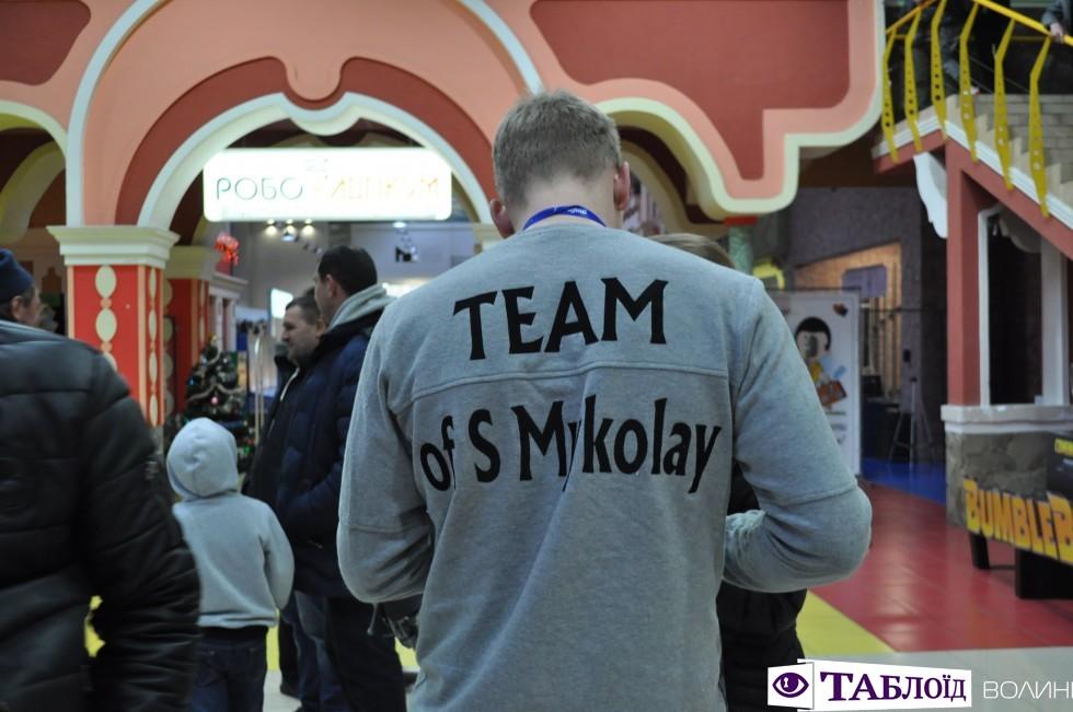 До лучан завітала команда творців фільму «Пригоди S Миколая».