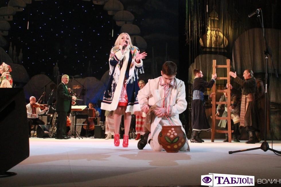 «Різдвяний концерт» у Волинському драмтеатрі