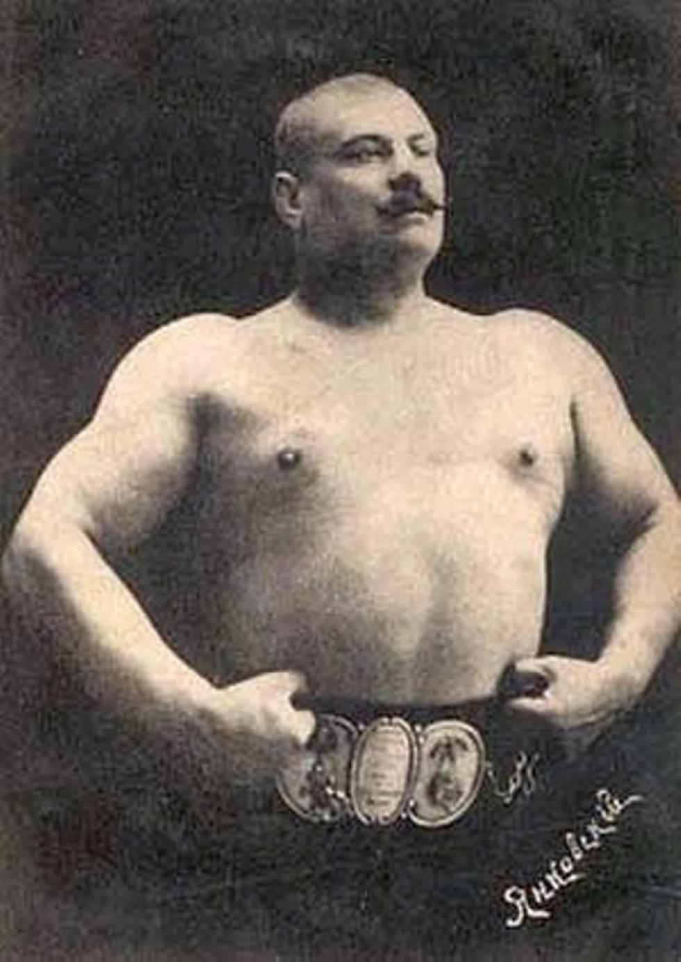 Борець «Урсус» Павло Янковський, 1910-ті роки