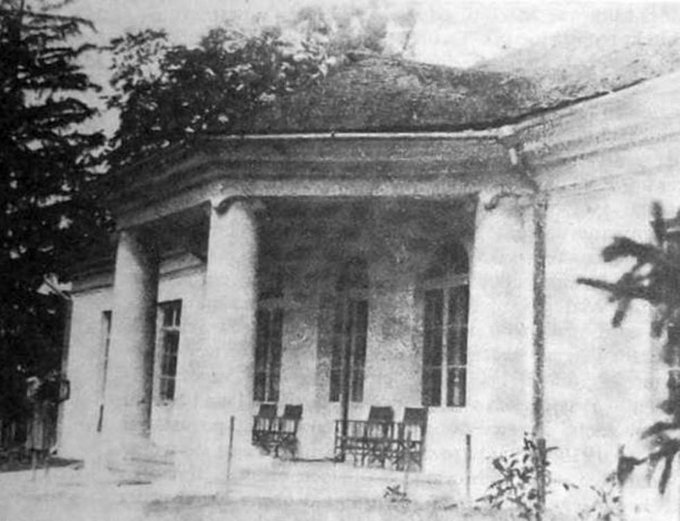 Палац в Лаврові, поч. ХХ ст.