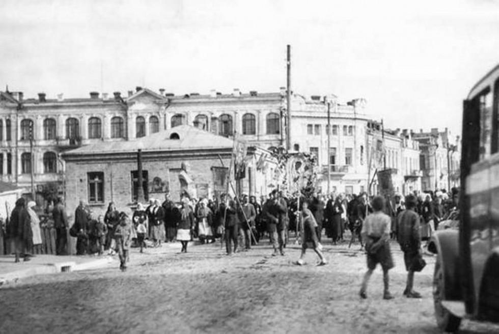 Луцьк, Братський міст. Автор фото Луїза  Бойд (1934 рік)