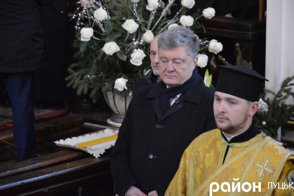 Президент у луцькому соборі