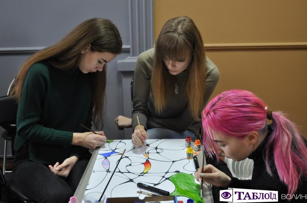 Відтепер галерея робіт з числографіки працює у Луцьку.