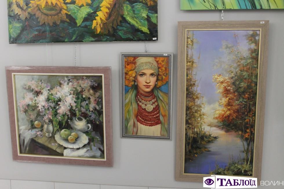 Виставка волинських художників у РЦ «Промінь»