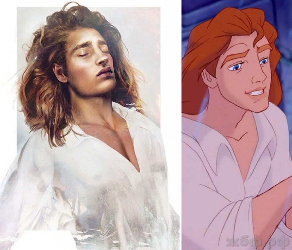 Принц Адам, «Красуня і чудовисько»