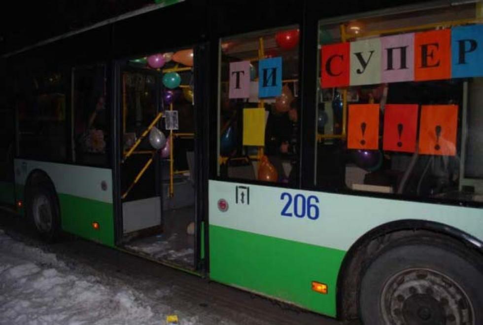Тролейбус напрокат