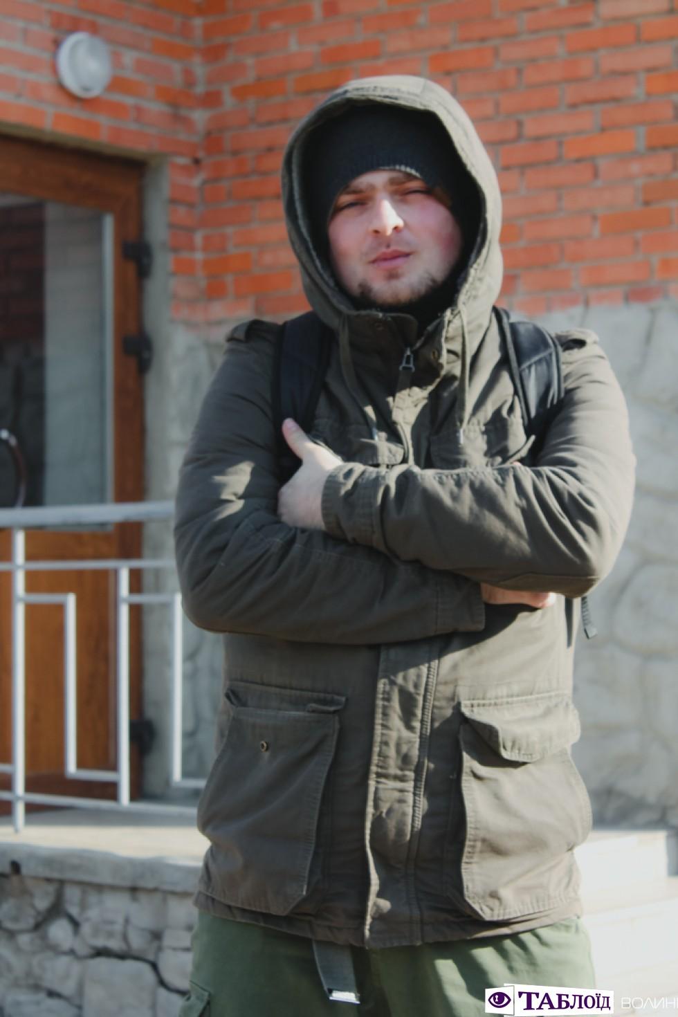 Лідер гурту «Апокриф» Михайло Невідомський