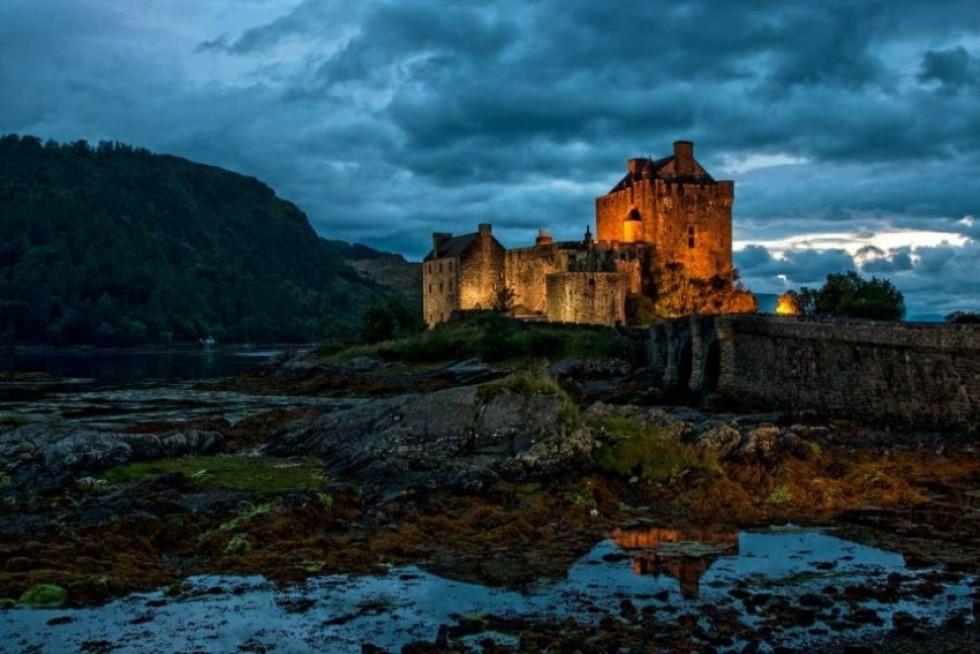 Замок Ейлен-Донан. Фото: Michael Lobley