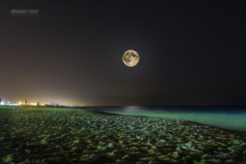 Супер Місяць. Фото: Mohamed Sabry