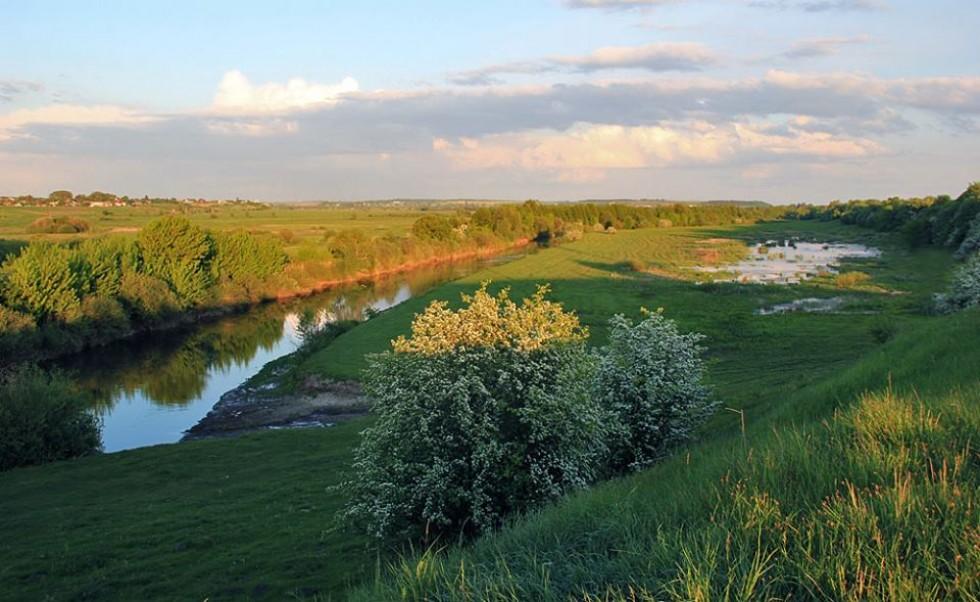 Весна на заплаві ріки Стир