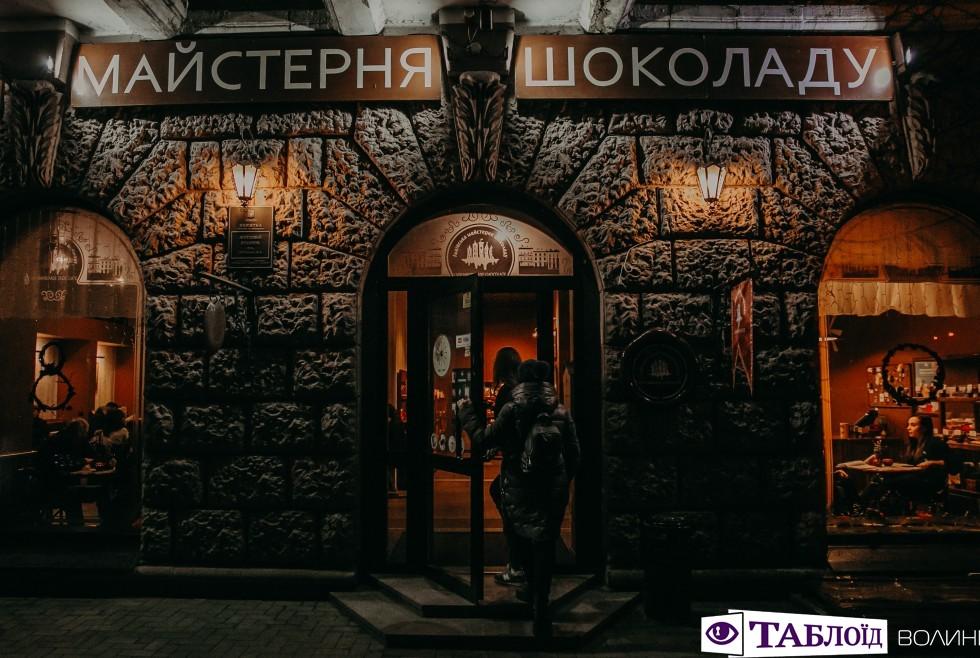 Хвилинка Слави у «Львівській Майстерні Шоколаду»
