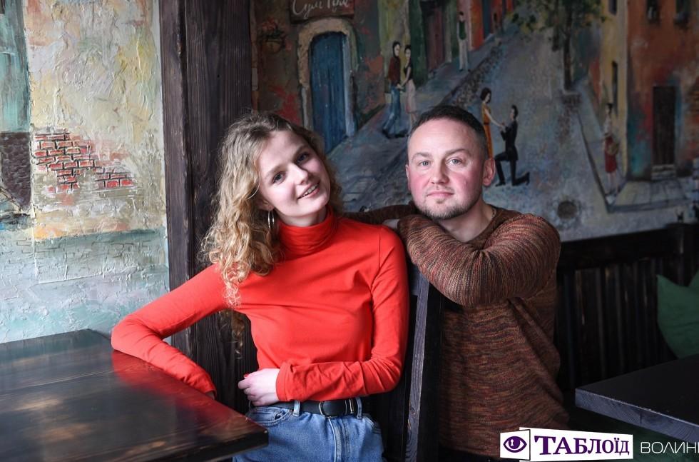 «Луцькі тати»: Сергій Панас із донькою-пластункою Дариною