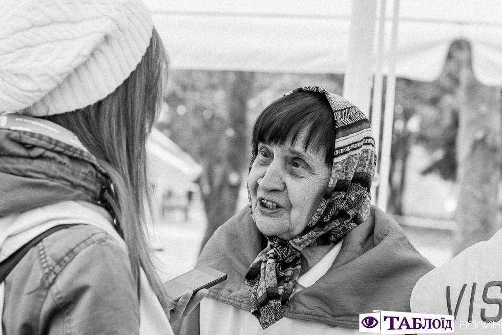 Тамара Павлівна – найстарша учасниця Толоки