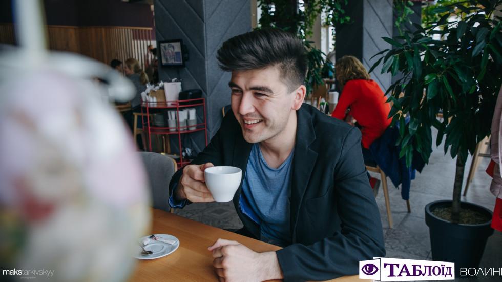 Хвилинка слави: луцький студент з Узбекистану Толмас Шомуродов
