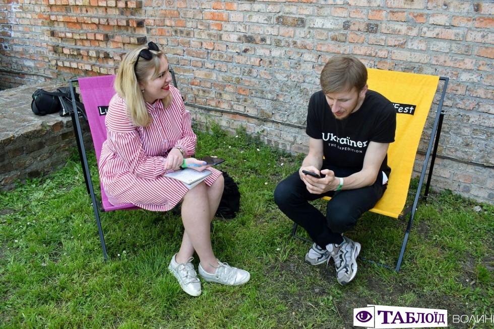 Інтерв'ю з Богданом Логвиненком на Lutsk Food Fest