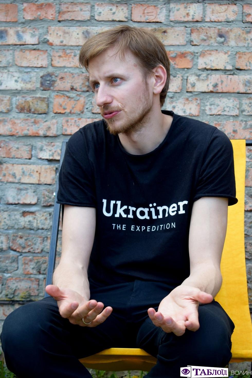 Автор проекту «Ukraїner» Богдан Логвиненко