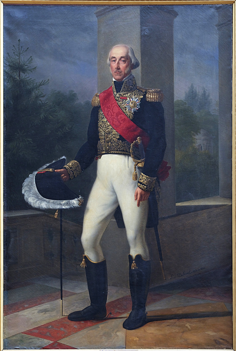Герцог де Бурбон, картина XIX ст.
