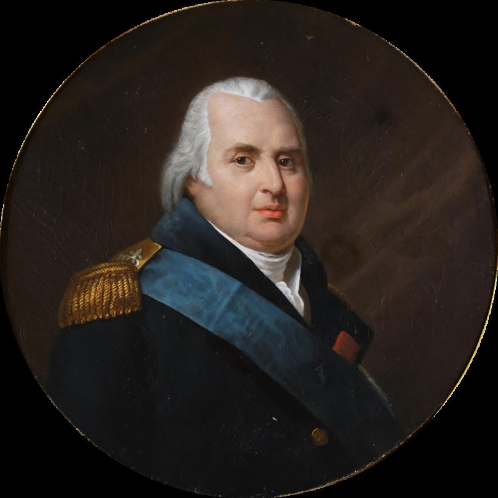Людовик XVIII, картина невідомого автора