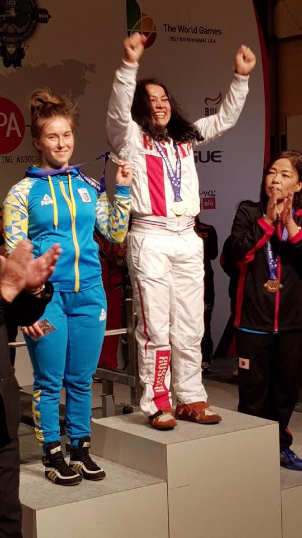 Оксана Приходько – срібна призерка