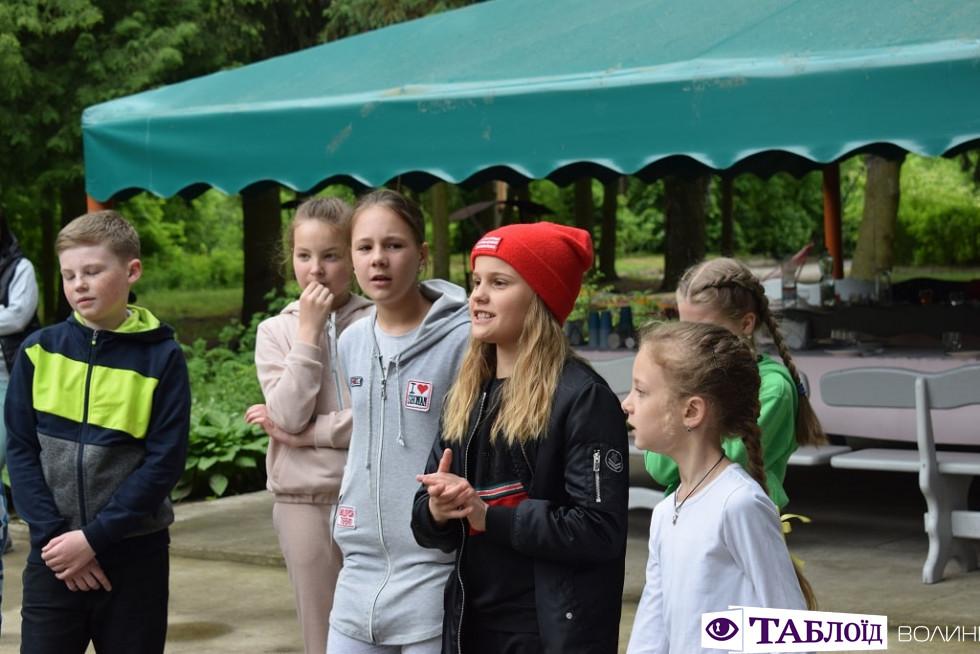 Випускний четверокласників Луцької гімназії № 21