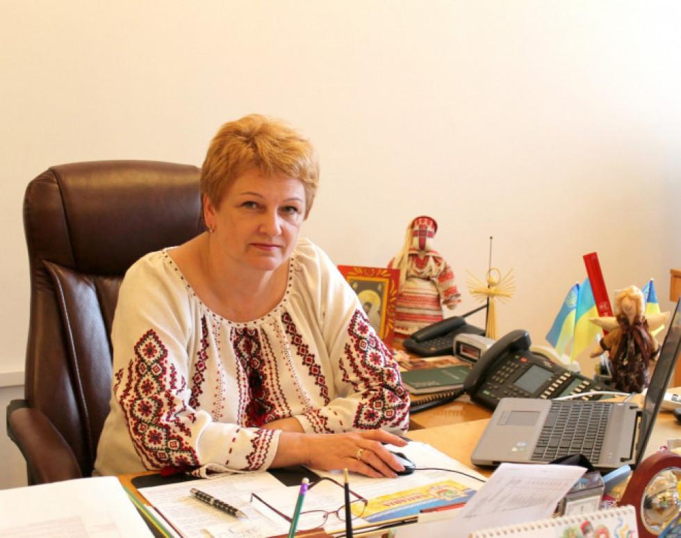 Заступниця голови Волинської ОДА Світлана Мишковець