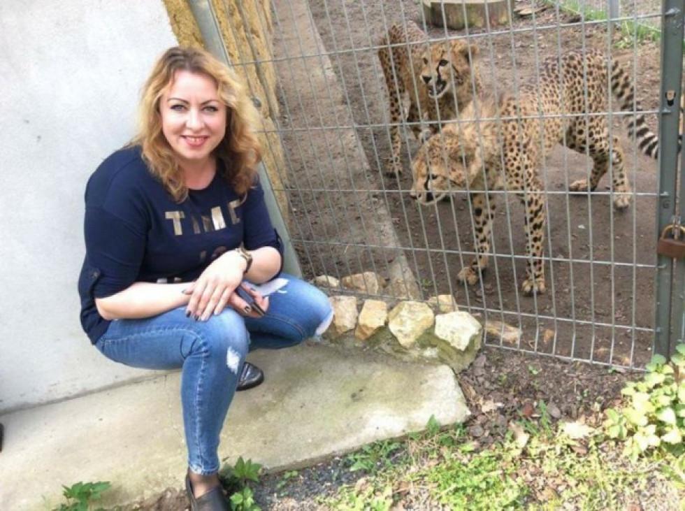 Директорка луцького зоопарку Людмила Денисенко
