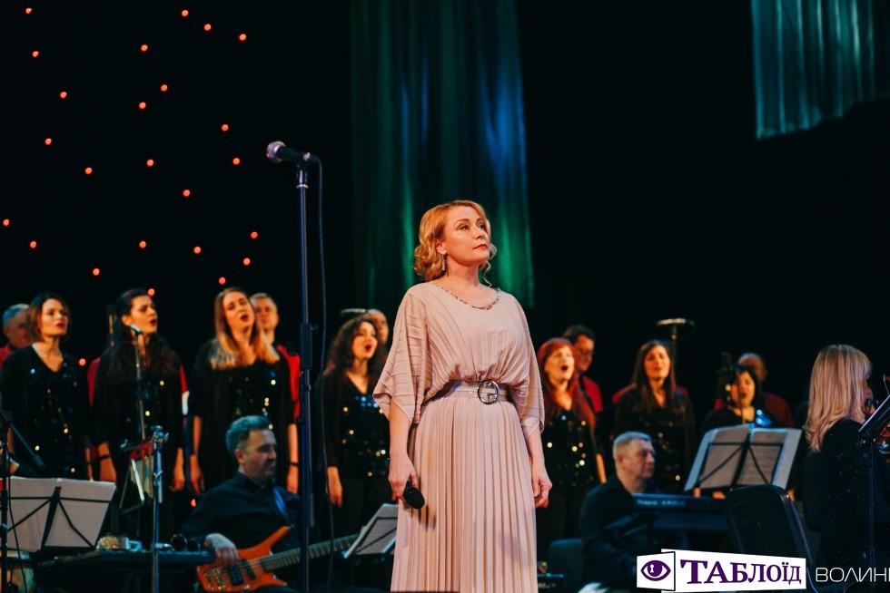 Співачка Тетяна Ціхоцька