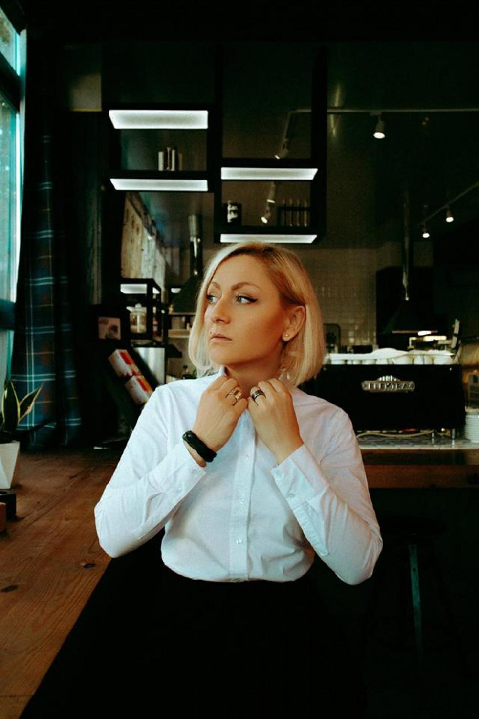 Радіоведуча Вікторія Жуковська