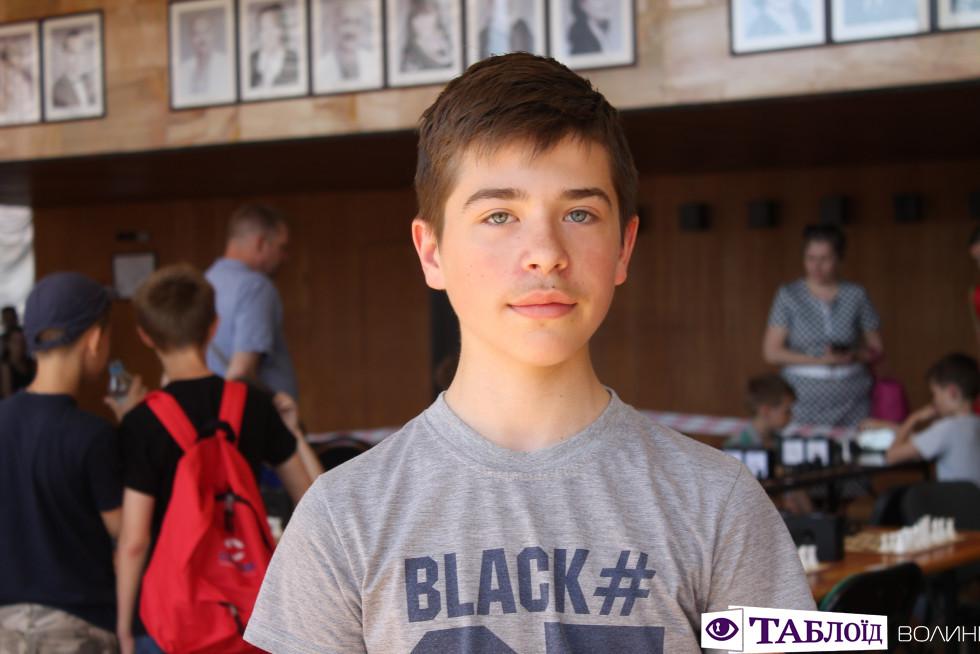 14-річний шахіст Тарас Перик