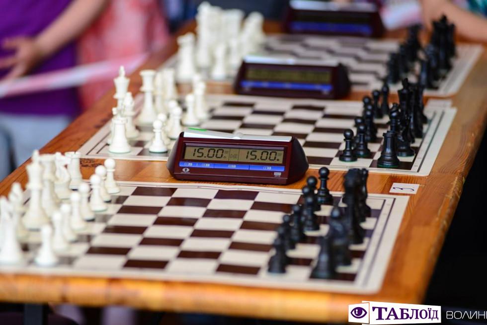 Шаховий турнір у Луцьку