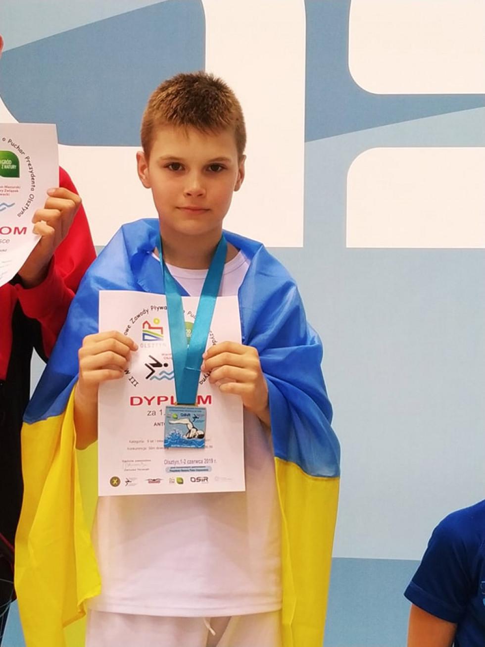 Лучанин Марк Антоник на змаганнях у Польщі