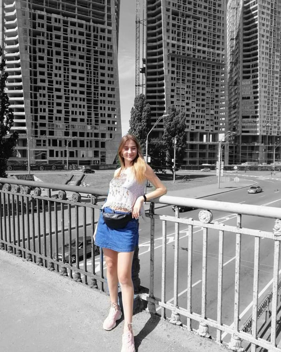 Красуня дня: блакитноока Леся
