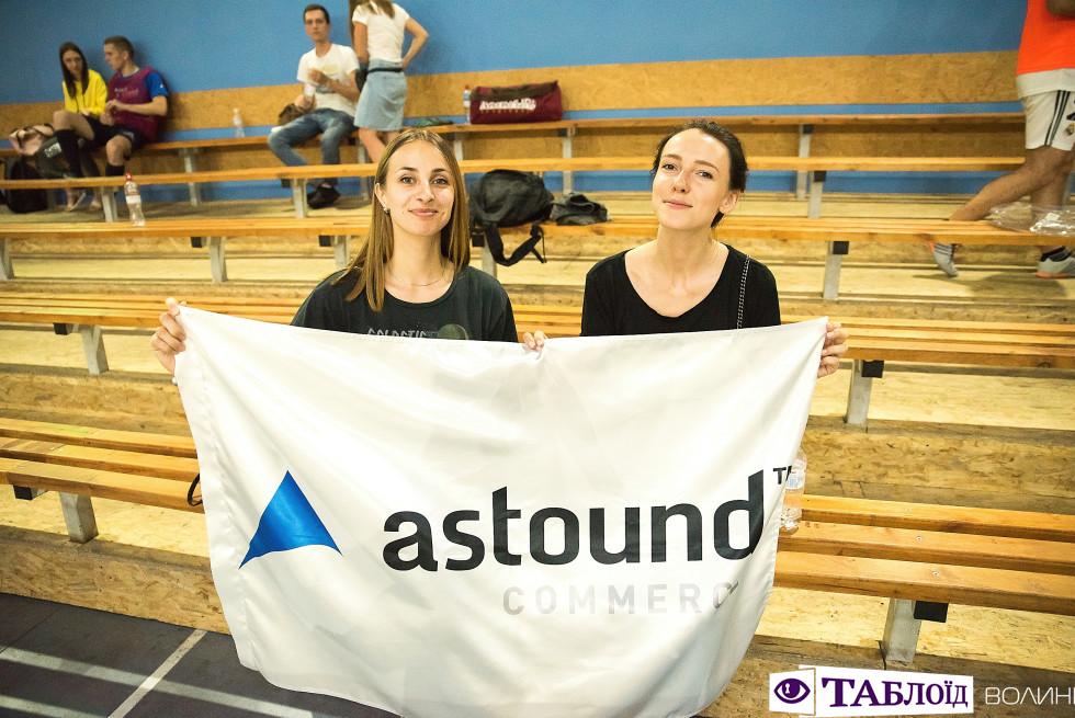 Колеги-вболівальники з Astound Commerce