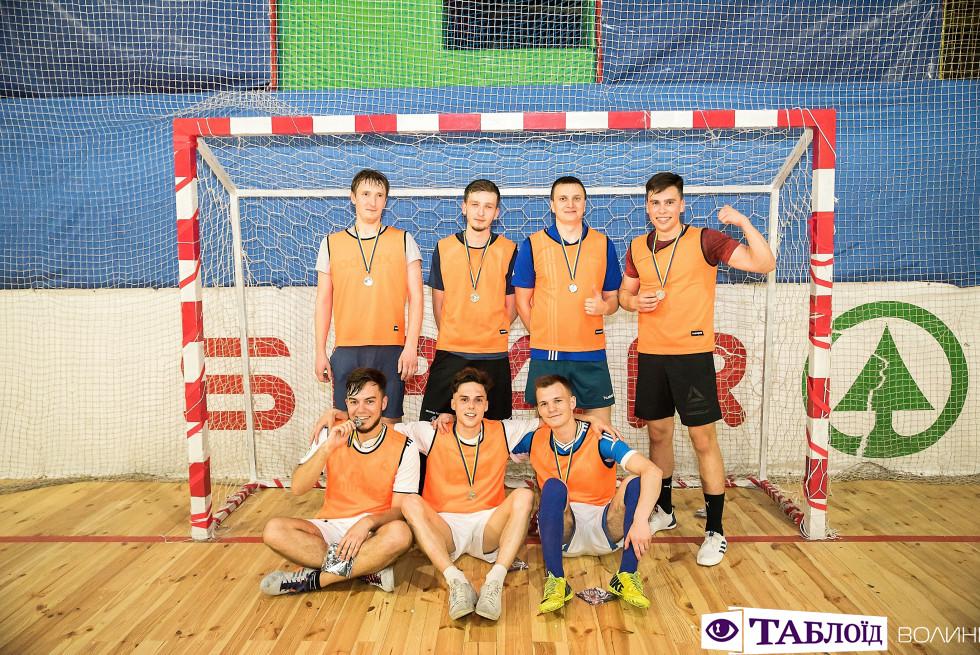 Команда Debug Backtrace на турнірі з міні-футболу