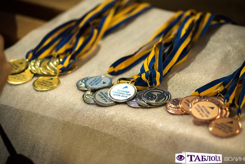 Медалі Astound Football Cup