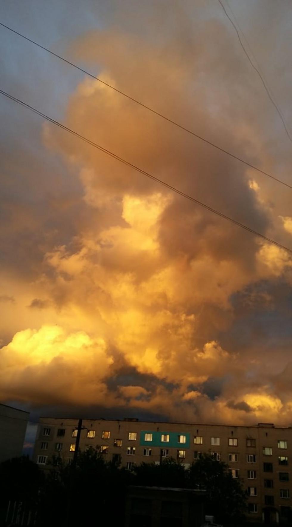 Небо над Нововолинськом