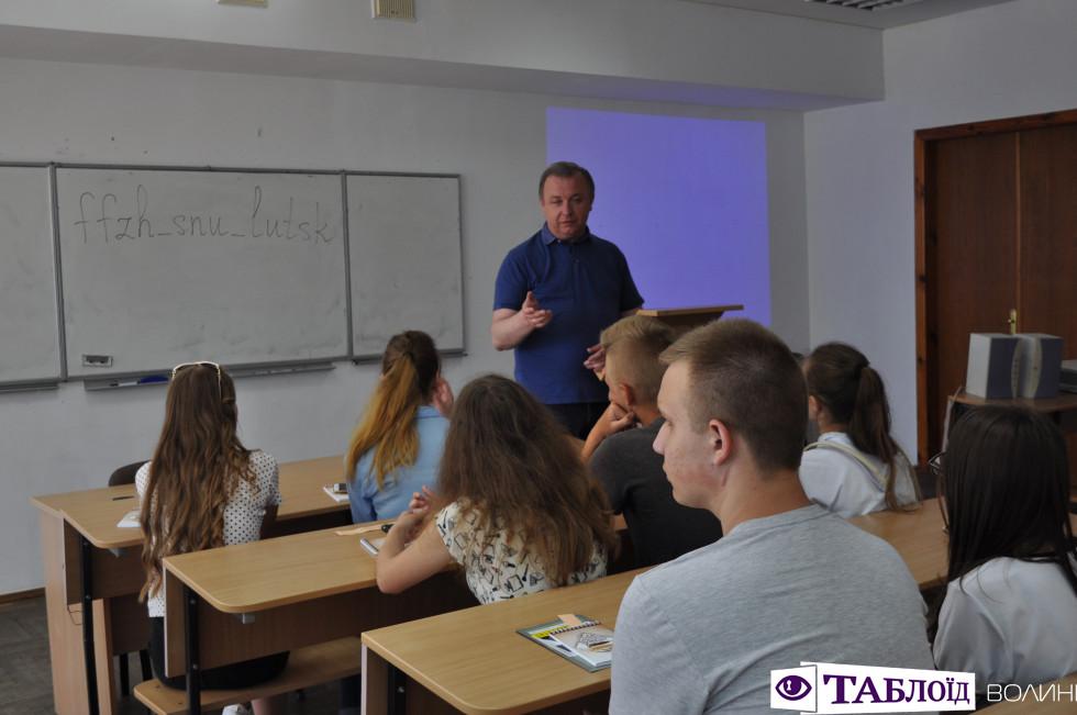 Десятикласники школи села Зимне відвідали волинську столицю.